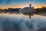 Der Leuchtturm am Geierswalder See
