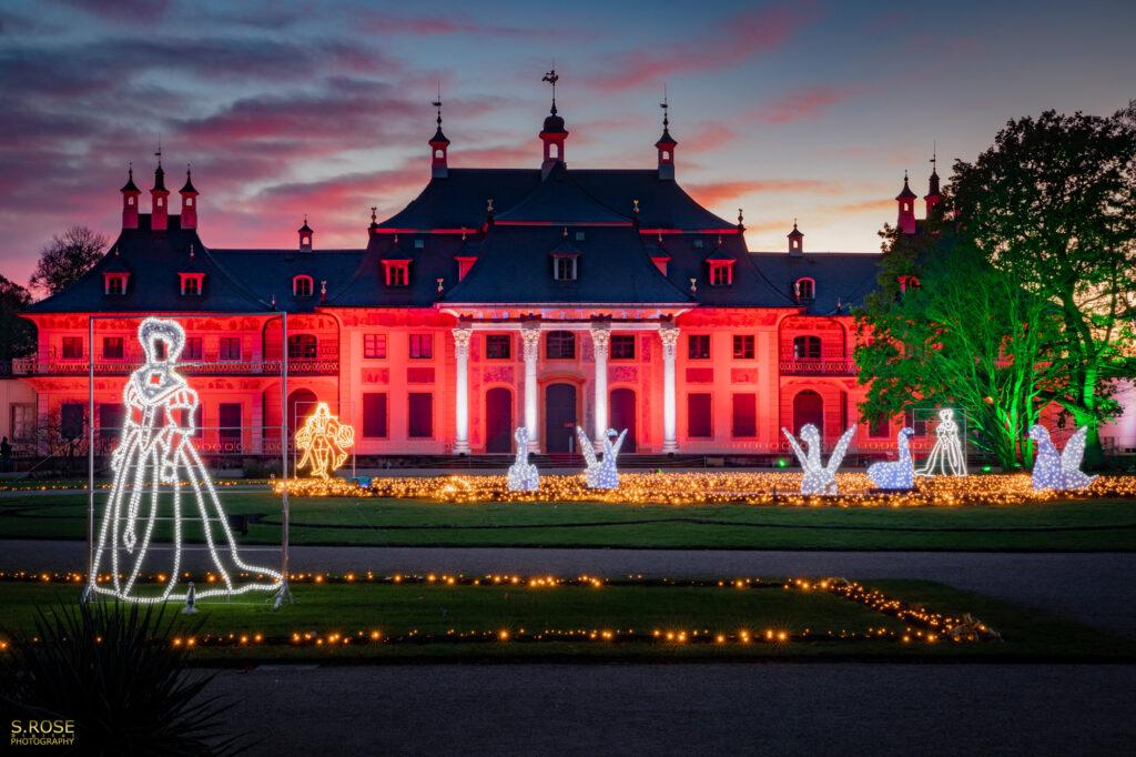 Schloss Pillnitz Christmas Garden 2021